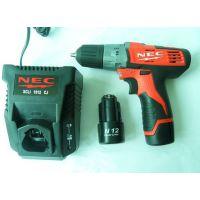 厂家直销NEC套装电动工具,12V便携式手电钻,N12,博世12V电钻