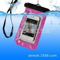 旅游 漂流游泳必备触屏手机防水套 三星苹果手机防水袋厂家批发