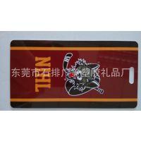行李牌定做 吊牌 pvc行李牌 硅胶行李牌 塑料滴胶工艺 厂家直销