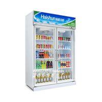 冰柜哪里有卖,双门1280连锁便利店冷柜