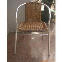 厂家直销 编藤椅 各种塑料藤椅 休闲椅子 铝藤椅子 阳台休闲餐椅