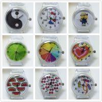 厂家直供新款手表 塑胶透明PVC石英表小清新森女软妹表 现货供应
