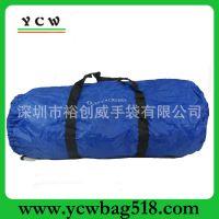 广东手袋厂家 210D行李包 涤纶手提包 可折叠旅行包 旅行拉绳袋