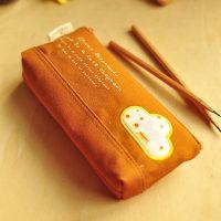 韩国文具批发 快乐马戏团笔袋 帆布笔袋  文具袋 学习用品