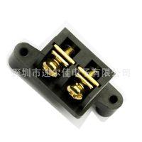 DG13-2P直针 大电流 接线端子台 镀金 栅栏式 拼接式=2.41