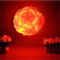 DIY创意PP灯罩 环保花瓣灯罩 卧室装饰吊灯 IQ灯罩