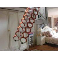 优秀阁楼楼梯厂家 折叠伸缩楼梯6种样式 北京电动阁楼楼梯