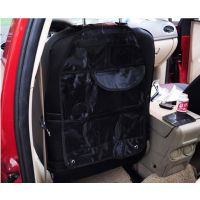 多功能车用杂物袋 车用后背袋椅背收纳袋 汽车椅背带彩盒装+0.5