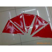 供应PVC三角旗,串旗,旗帜,彩旗,红旗,广告旗。