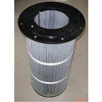 k3266抗防静电喷塑除尘滤芯 PTFE覆膜滤芯 粉尘回收滤筒