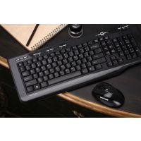 雷柏无线键鼠套装 8200NANO版多媒体USB无线键盘鼠标套装