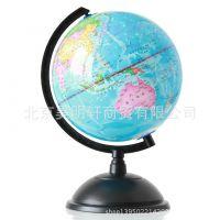 得力del3033地球仪 高清地球仪 标准教学地球仪