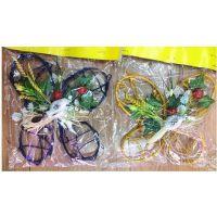 复活节装饰品 蝴蝶小鸟彩珠吊饰挂件 创意居家装饰挂件用品