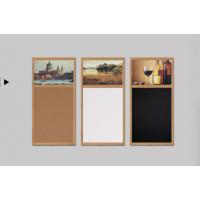 供应新迪白板软木板组合磁性白板40*60软木板家用创意记事板照片墙背景墙