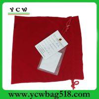 深圳龙岗礼品袋厂家 订做束口礼品袋 红色束口礼品袋 可加印LOGO
