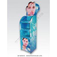 厂家量身定制超市促销日化用品用纸展货架 层式纸展示陈列货架