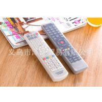 家居空调电视机遥控器套 硅胶透明保护套 防灰尘防水套保护套