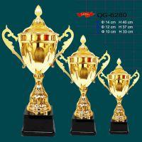 供应中国网球公开赛金属奖杯生产厂家 全国体操锦标赛奖杯外贸奖杯批量定做