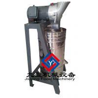 供应榨姜汁机,姜汁姜渣机价格,台湾蔬果渣汁分离TJ-105