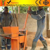 【厂家直销】专业生产QMR2-40手动砖机、手动粘土砖机 小型手压粘土连锁砖机 手工砖机