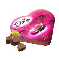 德芙心语心形巧克力150g  生日情人节礼物休闲食品批发 淘宝代发