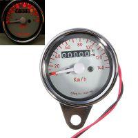 合祥摩托车改装仪表指针式里程表公里表车速时速度表摩托车仪表