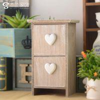 zakka 杂货 收纳盒 创意家居饰品 礼品工艺品 首饰盒 两格抽C5707