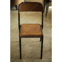 特价外贸出口美式乡村做旧复古餐椅/布艺欧式实木家具/咖啡厅椅子