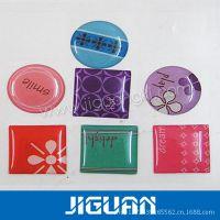 供应透明塑胶生产 滴胶标签制作 来样定做品质保证