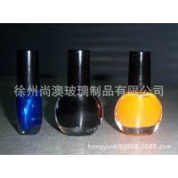 供应指甲油瓶/化妆品包材甲油空瓶/高白料套装指甲油瓶/美甲工具