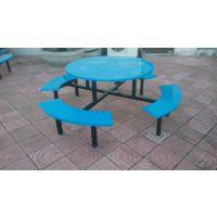 供应八人位玻璃钢餐桌餐椅 快餐桌 户外餐桌 食堂快餐桌椅 员工餐桌椅厂家批发
