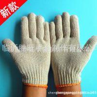 订做临沂劳保厂家批发 600克 普通再生棉电脑机 防护棉纱手套