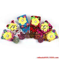 韩版儿童秋冬花朵围巾∣小孩星星保暖围巾∣时尚花朵星星儿童围巾