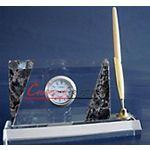 厂家特价供应K9水晶名片夹彩印半成品白坯.照片材料(图)