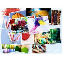 照片墙画芯打印  撞色多彩图片 来图定做 相框画芯一件代发