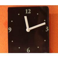 兰花静音挂钟 墙壁装饰挂件 创意生活家居饰品 时尚客厅时钟表