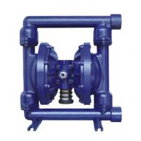 供应上海文都牌QBY-50铸铁四氟气动隔膜泵