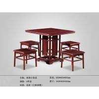 休闲小茶桌-红酸枝茶桌-缅甸花梨茶桌-非洲花梨茶桌-红木茶桌-百家红木