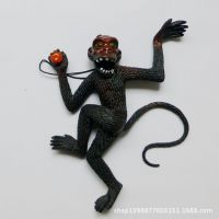 整人搞怪玩具 仿真动物模型玩具挂件 仿真猴子 大猴子 颜色随机发