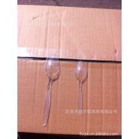 一次性透明塑料小勺*餐勺*冰淇淋勺*雪糕勺*茶羹 2000个/件