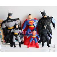 超人总动员玩偶超人公仔超人玩具蝙蝠侠公仔玩偶蝙蝠侠毛绒玩具