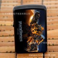 正品复古煤油金属火机 彩印广告机 变形金刚 CY008大黄蜂