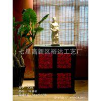古典家具 门厅玄关柜 装饰柜  玄关储物柜 实木家具展架JJ003