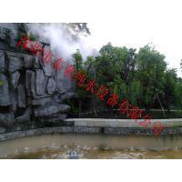 东荣园林冷雾系统用于音乐喷泉