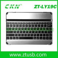 ipad5铝合金蓝牙键盘,蓝牙3.0内置可充电电池