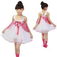 2014款女童芭蕾舞舞蹈服幼儿园演出服表演服蕾丝娃娃裙定制批发