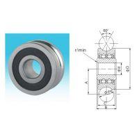 精准尺寸LFR 50/5-4 KDD/NPP不锈钢轴承