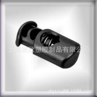 供应塑料透明弹簧扣绳扣 过检针绳扣 环保弹簧扣