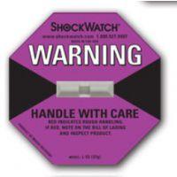 L-55(37g)Shockwatch Label 紫色碰撞显示标签