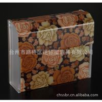 有机草纸盒 亚克力方纸盒 有机手纸架